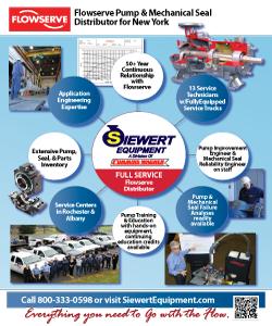 Siewert Equipment Flowserve full service distributor flyer
