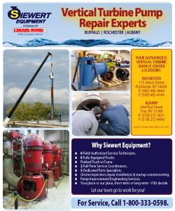 Siewert Equipment Vertical Turbine Pump Repair flyer