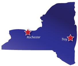 Siewert Equipment Service Centers in Rochester, NY and Albany, NY