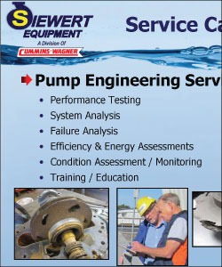 Pump Improvement Engineering services and Reliability Services Group