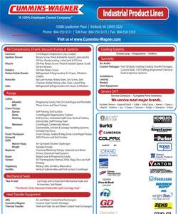 Cummins-Wagner-VA-Industrial-Line-Card product lines