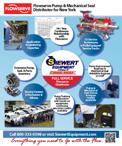 Siewert Equipment Flowserve full service distributor flyer