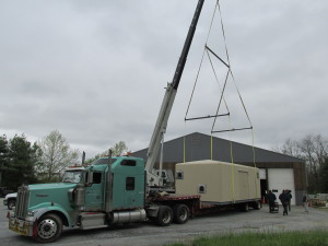 Cummins-Wagner EPS - Highland Services - On Truck with Crane