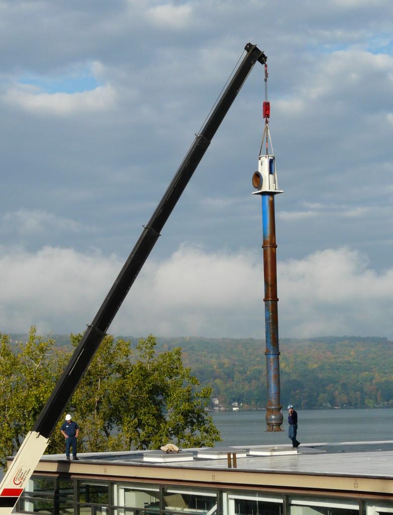 Flowserve Vertical Turbine Pump repair