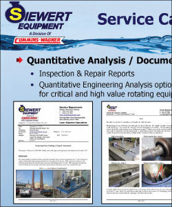 Example of multi-stage pump inspection report
