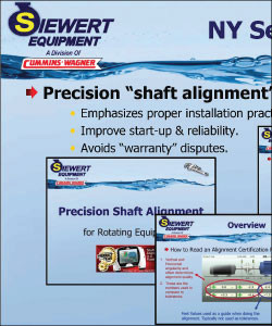 Precision shaft alignment seminar PPT slide example