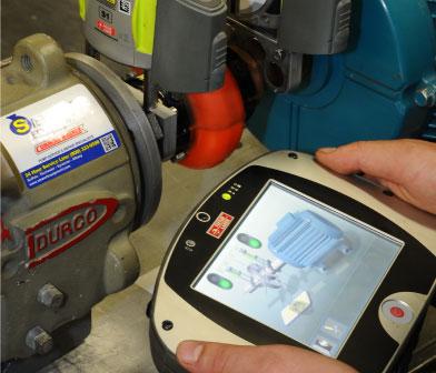 Vibralign Fixturlaser XA Pro laser alignment system with Durco pump
