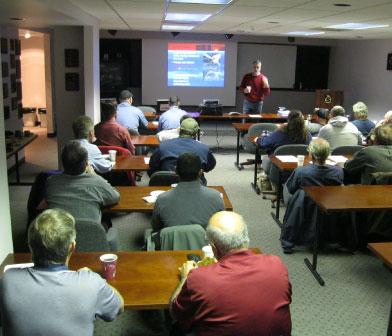 Siewert Equipment technical training and education seminar