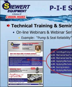 Example of Technical training, webinars, and seminars