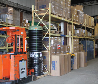 Eone grinder pumps and parts inventory at Siewert Equipment in Troy NY
