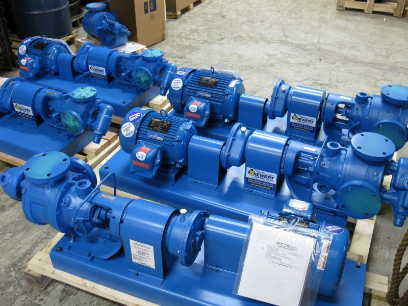 Viking Pump assemblies done in Siewert Equipment's Rochester NY repair center
