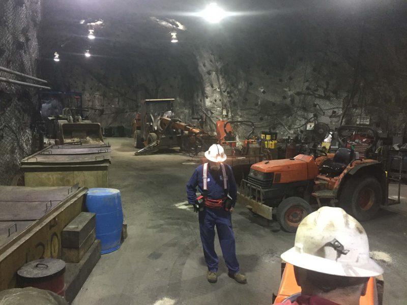 Pump Repair at St. Lawrence Zinc Mine in Gouverneur NY