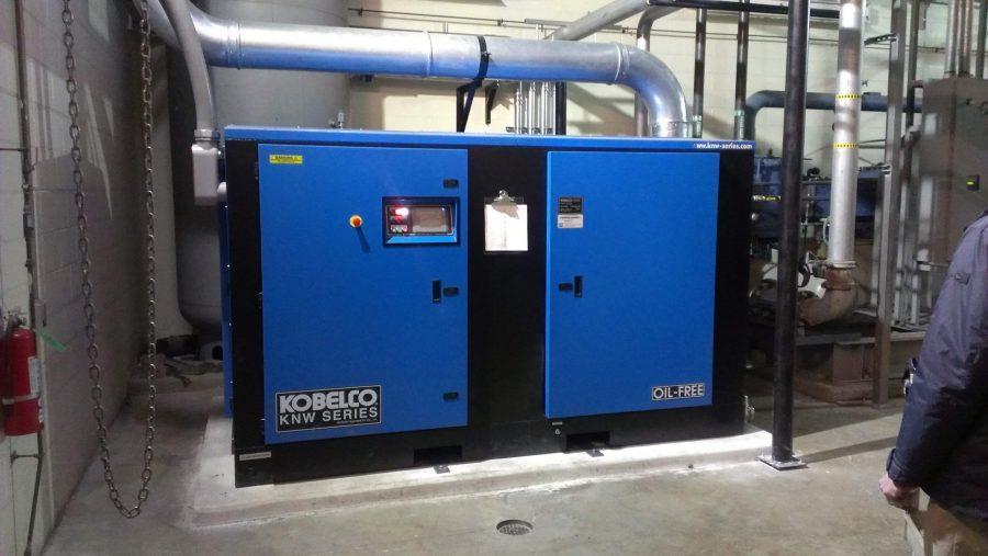 Cummins-Wagner Kobelco oil free air compressor KNW series