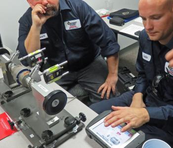 Precision-Alignment-NXA-Vibralign Albany NY service technicians