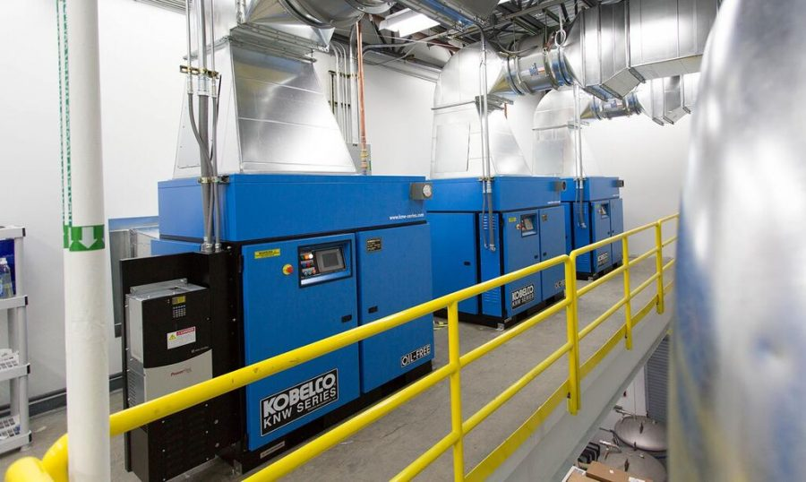 Kobelco KNW Series oil-free air compressors maryland
