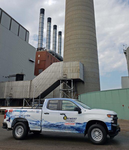 Siewert Pump Service Truck NRG Power Plant Cheektowaga NY