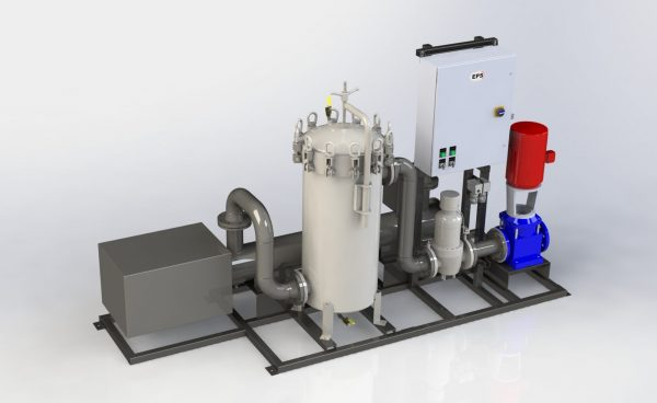 UV Ultraviolet treatment and multi-stage filtration packages by Engineered Proces Solutions of Cummins-Wagner