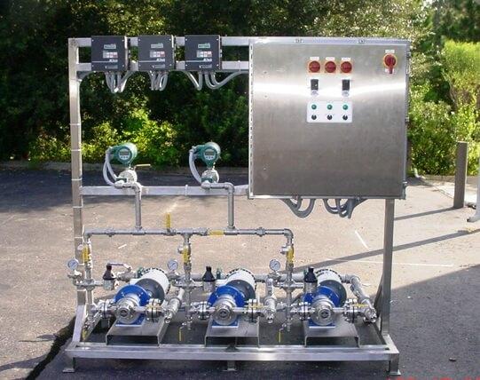 Triplex Gear Pump System