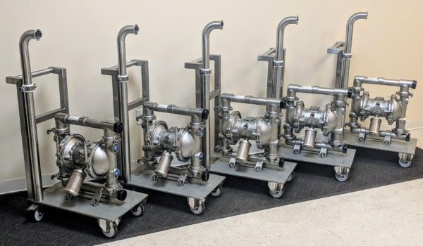 Graco Sanitary Pump Carts by Cummins-Wagner-Florida