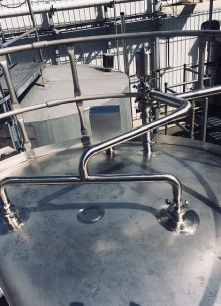 Process Piping in a Brewery installed by Cummins-Wagner-Florida