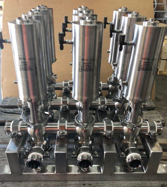 SPX Flow Waukesha Cherry-Burrell Valves Distributor Cummins-Wagner-Florida
