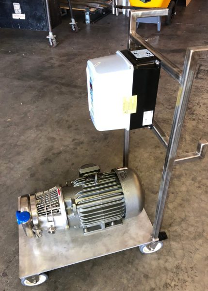 Sanitary Pump Cart done by Cummins-Wagner FL Jacksonville Engineered Systems Group