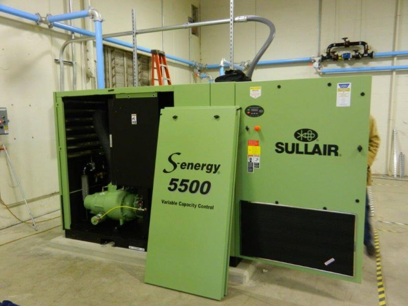 Sullair S-Energy 5500 startup by our Cummins-Wagner service team.