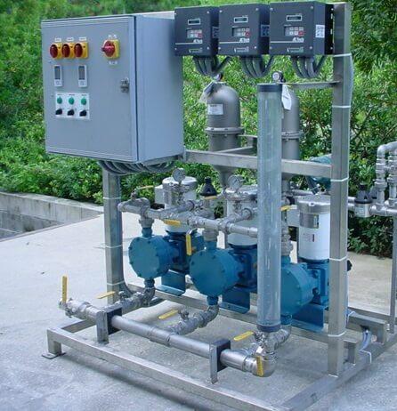 Triplex Diaphragm Pump System