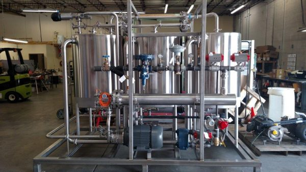 Clean in Place (CIP) Skid System for Personal Care Industry