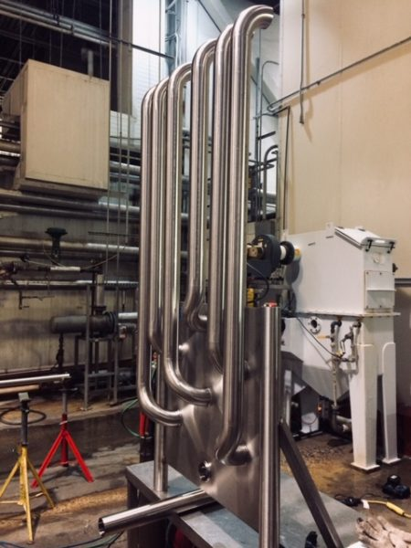 Flow Panel Process Piping installed by Cummins-Wagner-Florida