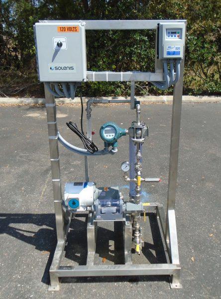 Simplex Piston Pump System