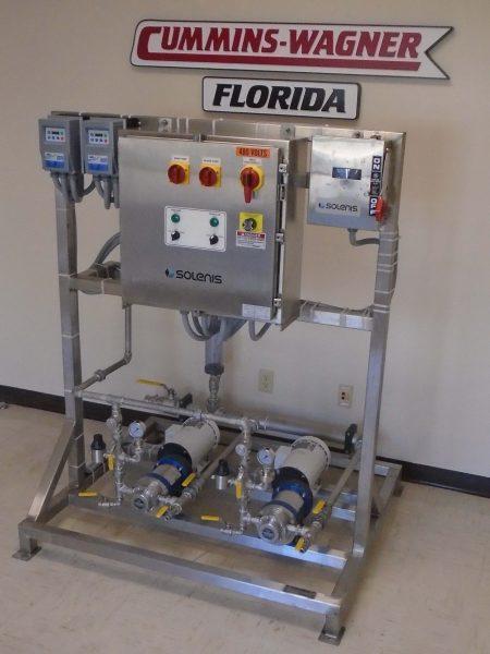 Dual Chemical Metering System