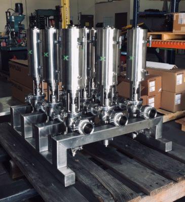 Florida Custom Valve Assembly with SPX Flow valves