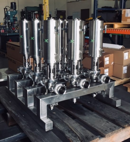 Florida Custom Valve Assembly with SPX Flow valves