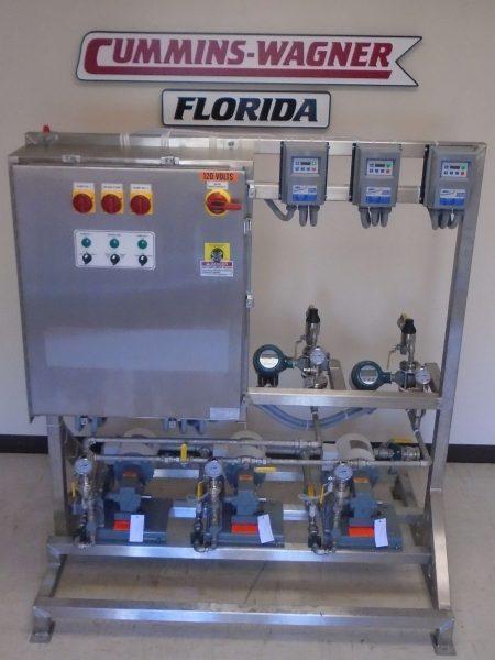 Triplex Piston Pump Chemical Feed System