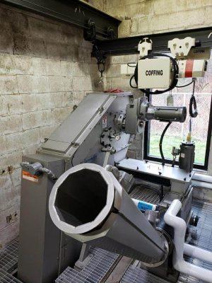 Hydro-Dyne Bull Shark Through Flow Fine Screen with Whitetip Shark Washing Compactor
