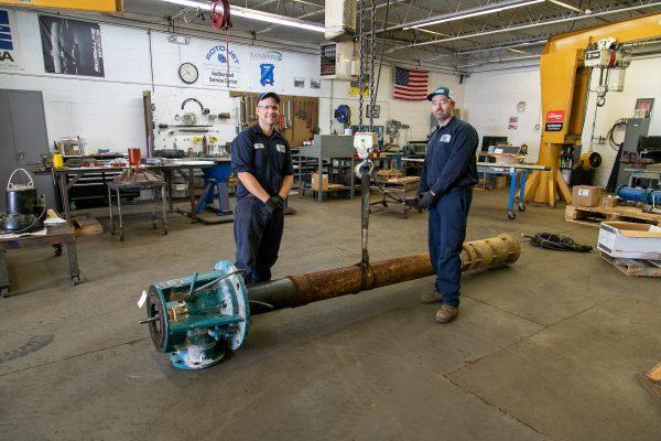 Siewert Equipment Rochester service shop - pump repair.